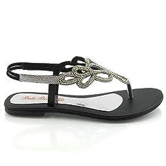 e25faa17f0270 Women flat sandal ESSEX GLAM - Casual Women's Shoes