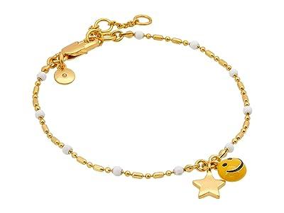 Madewell Delicate Enamel Bracelet (White Multi) Bracelet