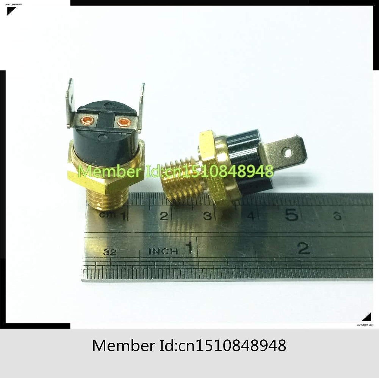 N O Ceramic Screw Cap M4 M5 M6 M10 Hexagonal Head Copper Screw KSD301 5A 250V 40C-150C 105 110 120 125 130 135 140 145 150(color  40 Degree)