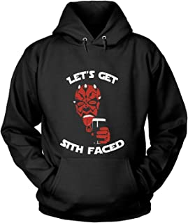 Let's Get Sith Faced T Shirt, Darth Vader Star Wars T Shirt - Hoodie