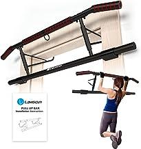 Optrekstang, deurrek- voor deurkozijnen zonder schroeven, training thuis tot [200 kg] – 20 cm hoger in het deurkozijn voor...