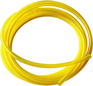 Enshey 50 Feet Fuel Line Hose Tube 2mmX4.5mm Fuel Line Replacement Kit Lubricant Tubing for Weedeater, Chainsaw and Common 2 Cycle Small Engines