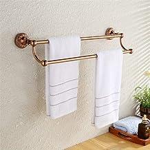 MBYW moderne minimalistische hoge dragende handdoek rek badkamer handdoekenrek Antieke rosé goud badkamer handdoek bar/dub...