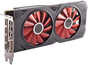 XFX Radeon RX 570 RS Black Edition 1328MHz, 8gb 256bit GDDR5, DX12 VR Ready, Dual BIOS, 3xDP HDMI DVI, AMD Graphics Card (RX-570P8DBD6)