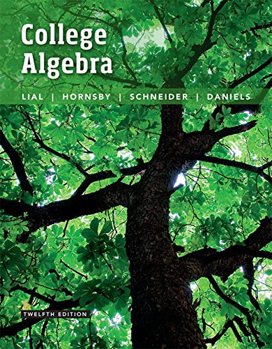 College Algebra plus MyLab Math with Pearson eText -- 24-Month Access Card Package (12th Edition)