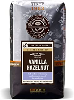 The Coffee Bean & Tea Leaf Ground Coffee, Vanilla Hazelnut, 12 Ounce