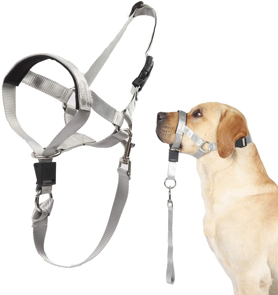 Dog Head Collar No Pull Training Walks Includ Be super welcome for on Dogs Superlatite Tool