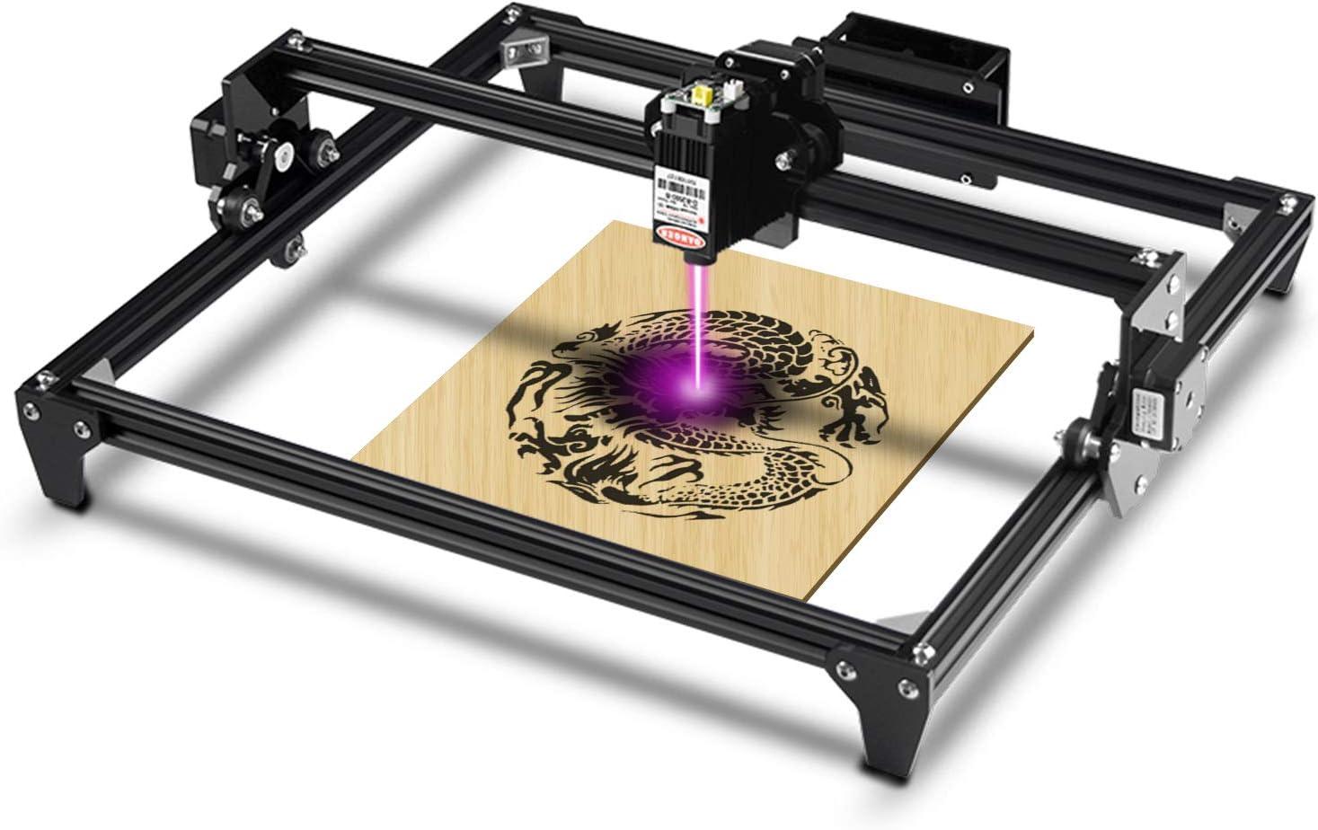 Totem Desktop Engraver Portable Engraving Carving Cutting DIY Machine 400x430mm 2.5w