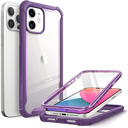 I Blason Transparent Hülle Für Iphone 12 Iphone 12 Pro 6 1 Case 360 Grad Handyhülle Bumper Schutzhülle Cover Ares Mit Displayschutz 2020 Lila Elektronik