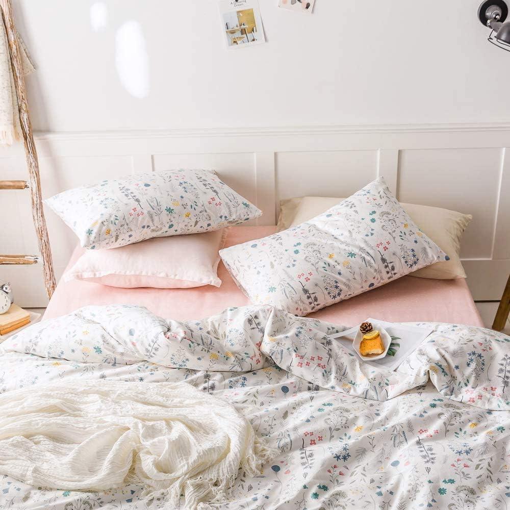 EnjoyBridal Cactus Pillowcases 2 Piece Breathable Anti-Wrinkle Pillowslip for Kids Boys Girls 100/% Cotton Pillow Covers for All Seasons No Pillow 20/×26, white2