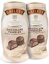 BAILEYS Original Irish Cream Non-Alcoholic Chocolate Truffles Two 1.1-Pound Jars