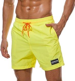 Howely Men Pants Fast Dry Athletic Breathable Waterproof Swimwear Shorts
