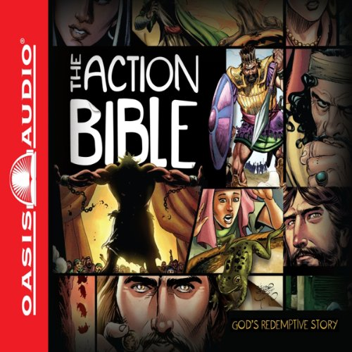The Action Bible audiobook cover art
