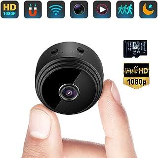 LYJCS C/ámara de vigilancia inal/ámbrica WiFi HD visi/ón Nocturna Inteligente peque/ño Monitor de tel/éfono m/óvil de Red Remoto Interior del hogar Size : Line