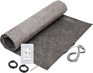 12 sq. ft. ThermoFloor Laminate Floor Heating Kit: (1) 3x4 ft. mat, (1) UWG4-4999 WiFi Touch Screen Thermostat