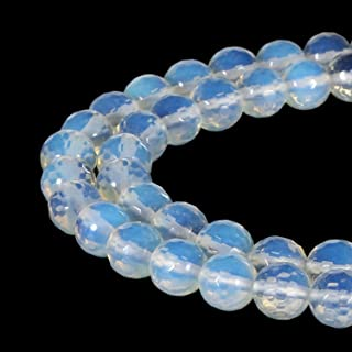 TUMBEELLUWA Top Drilled Tearsdrop Semi-Precious Gemstones Loose Bead for Jewelry Making,9Pcs//Set