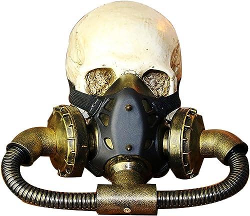 descuento de bajo precio Kehuashina Retro Color de Bronce de Goma Steampunk Steampunk Steampunk Pipe Máscara de Gas de Halloween Máscara de la Máscarada Suministros de Fiesta de Vacaciones Cosplay Photo Props  minoristas en línea