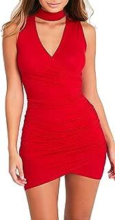 Best red choker dress Reviews