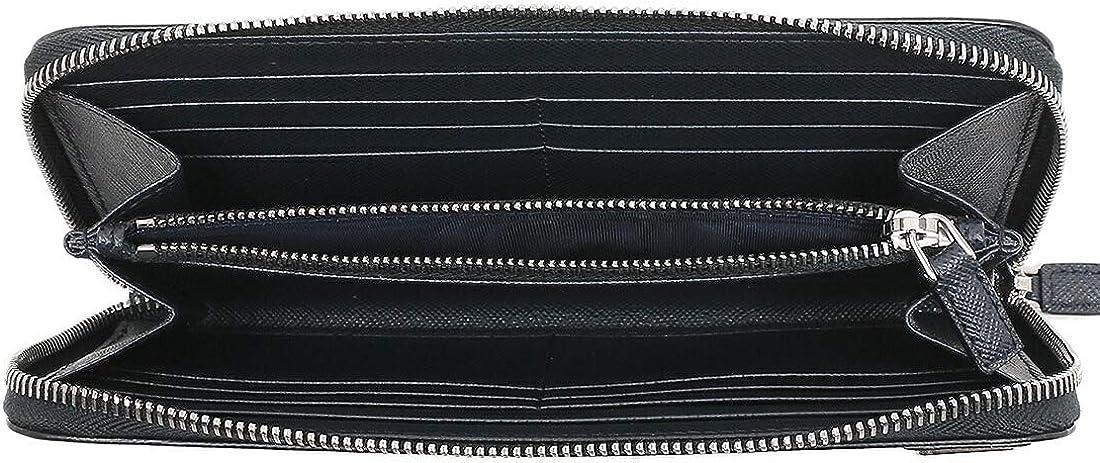 PRADA コインポケット付 サフィアーノレザー 財布 の内装