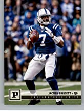 2018 Panini NFL Football #125 Jacoby Brissett Indianapolis Colts Official Trading Card