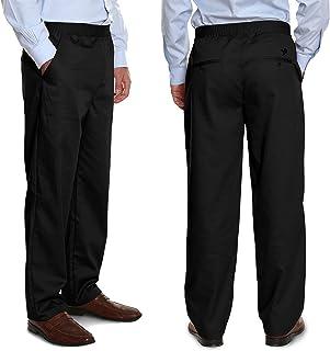 Pembrook Men's Full Elastic Waist Twill Casual Pant