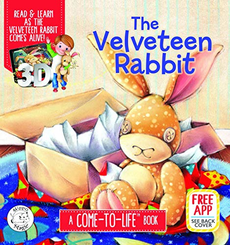 The Velveteen Rabbit Augmented Reality Come-to-Life Book (Little Hippo Books)