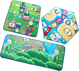 NC 3pcs Playmat Developing Toy Baby Foam Mat Rugs Educational Carpets for Tent