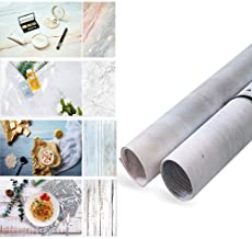 Evanto 22x35Inch 2 Rolls Seamless Background Paper with 4 Patterns for Flat Lay Backdrops, Daily Photos, Desktop Photography, Product Displays, Youtube Video and more