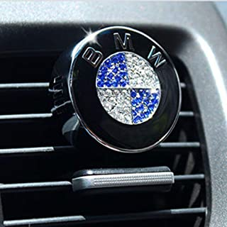 Fitracker Car logo Air Freshener Vent Clip Perfume Air Freshener Fragrance Scent with Gift Box