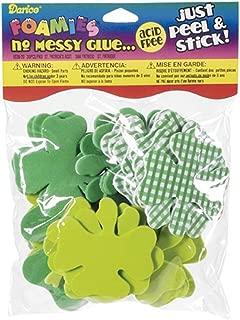 Darice St. Patrick's Day Assorted Shamrocks Stickers-30 pc (1 Pack)