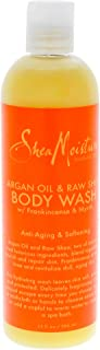 SheaMoisture Argan Oil & Raw Shea Butter Body Wash, 13 Ounce