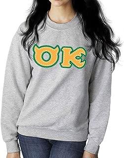 Monster University Fraternity Oozma Kappa OK Women's Sweatshirt