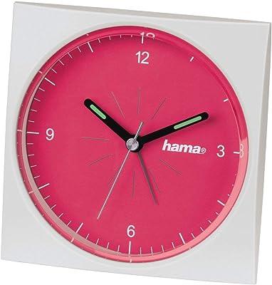 Hama A400 - Reloj despertador de viaje, color naranja