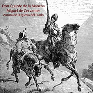 Don Quijote de la Mancha audiobook cover art