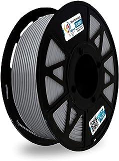 3Idea Premium PLA 1.75mm 3D Printer Filament, Dimensional Accuracy +/- 0.03mm (Grey, 1 kg)