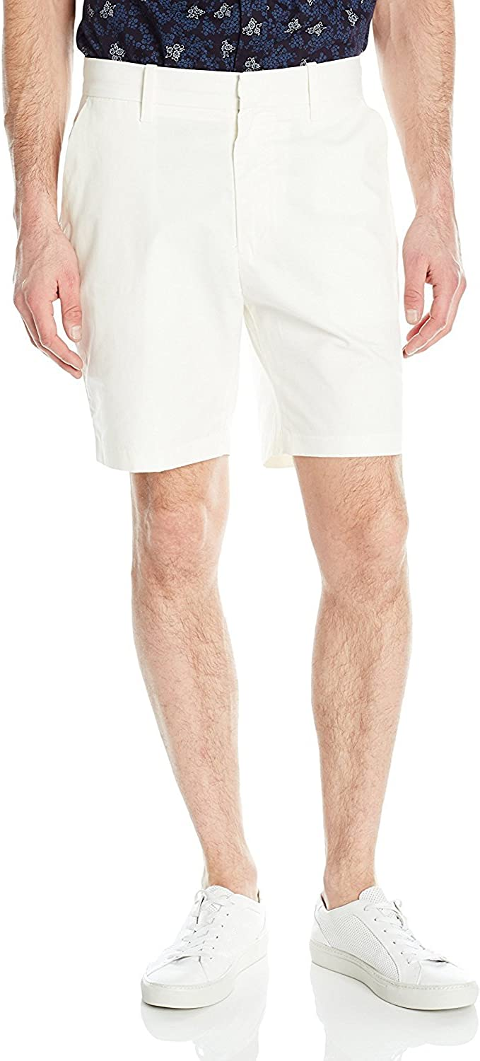 Nautica At the price Max 58% OFF of surprise Men's Modern Fit Twill Flat Short Front