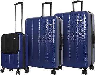Mia Toro Italy Reggia Hard Side Spinner Luggage 3 Piece Set