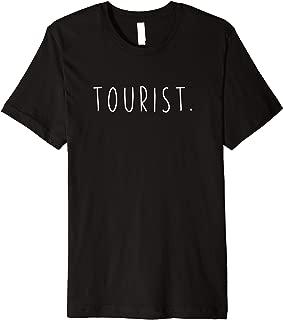 Foreign Tourist Sign - Managing English Tourism Clothing Premium T-Shirt