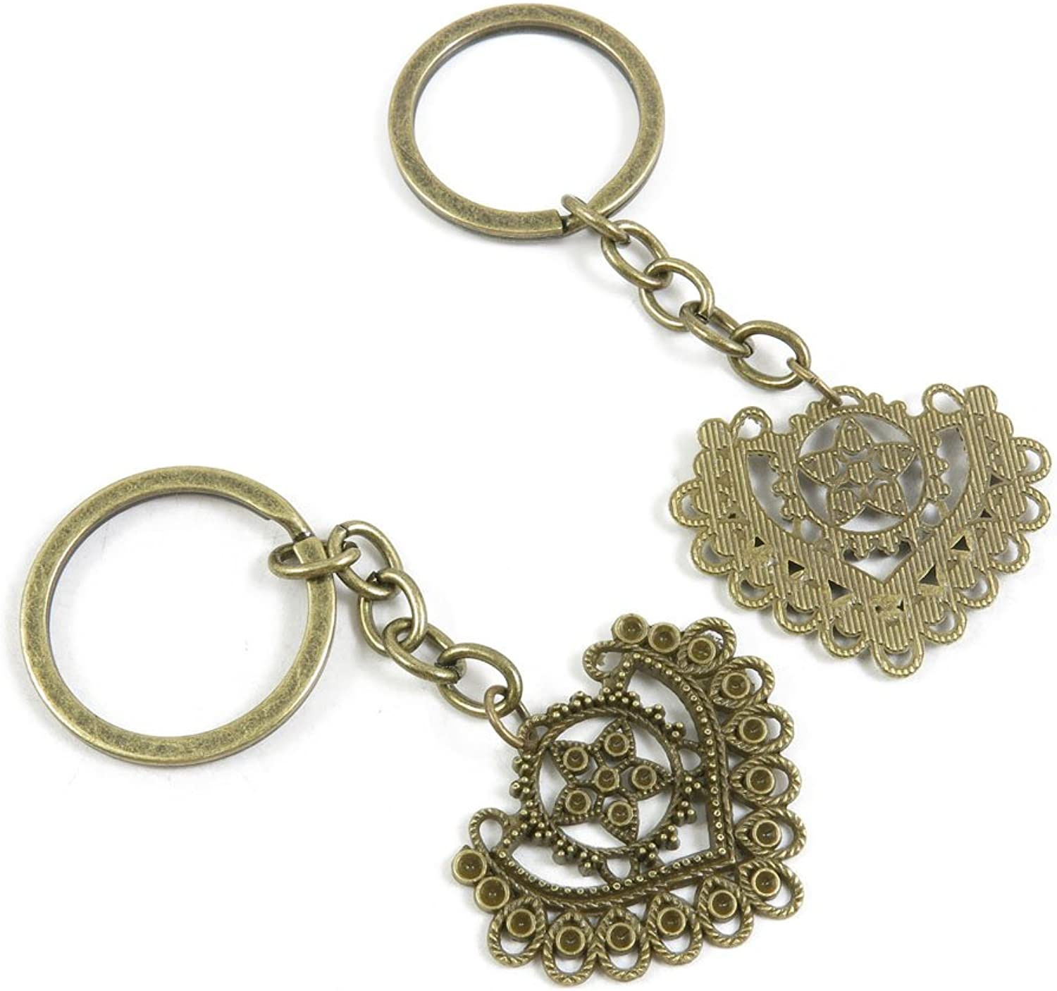140 Pieces Fashion Jewelry Keyring Keychain Door Car Key Tag Ring Chain Supplier Supply Wholesale Bulk Lots B6OG8 Earring Connector Joiner
