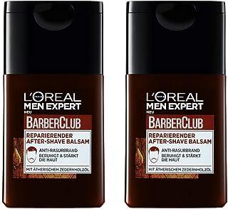 L'Oréal Men Expert Barber Club regenerujący balsam po goleniu, uspokaja i ożywia po goleniu, zapobiega zaczerwienieniu, po...