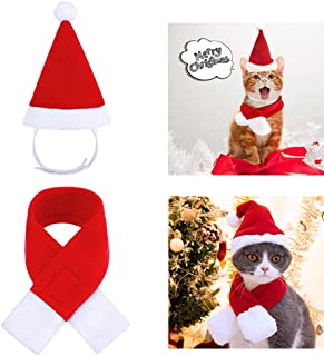 ZTON Christmas Pet Antlers Adjustable Headband Adorable Kitten Cat Puppy Costume Hat