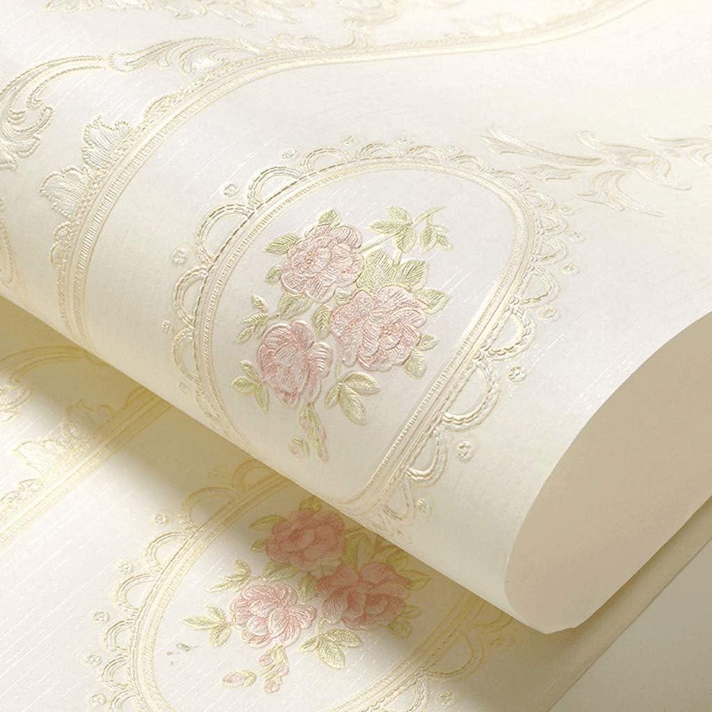 Wholesale JFIA65A 70% OFF Outlet 3D Non-Woven Wallpaper Stripes Vertical L Pink