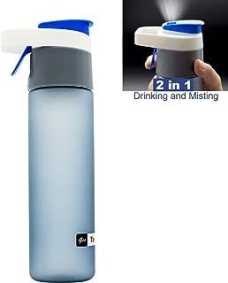 water bottle with mist spray