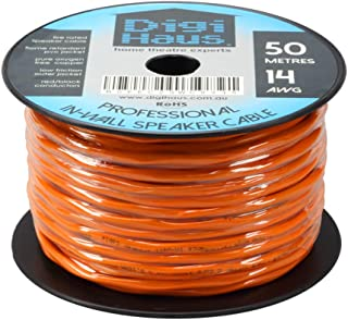 DIGIHAUS SC14AWG-0335 Home Theatre Premium in-Wall Speaker Cable - 2 Core 14AWG - 50m - Fire Rated