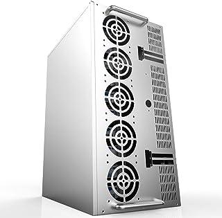Equipos eléctricos SECC Mining Rig Marco Miner Miner Case Soporta 10-12 GPU Tarjeta Gráfica 73x51x39cm