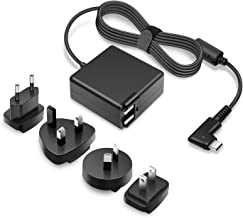 Outtag 61W USB C Charger Travel Power Adapter for MacBook/Pro, Google Pixel 2/3/XL, Pixelbook, Nintendo Switch, Lenovo Dell HP Acer Asus Huawei Razer Blade Stealth USB C Charging Device, w/4 AC Plugs