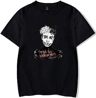 SERAPHY XXXTentacion 半袖 ヒップホップ Tシャツ アメリカ風Tシャツ ラップ 街文化 個性的 夏服 カジュアル