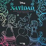 Arteterapia. Navidad Disney. 6 dibujos mágicos antiestrés. Rasca y descubre (Hachette Heroes -...