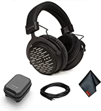 Beyerdynamic DT 1990 Pro Open Studio Headphones with Hard Case and 25ft Headphone Extension Cable