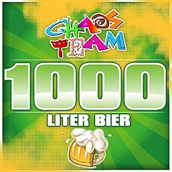 1000 Liter Bier